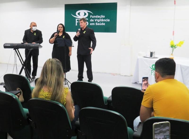 Em alusão ao Setembro Amarelo, FVS-RCP realiza evento para valorizar funcionários