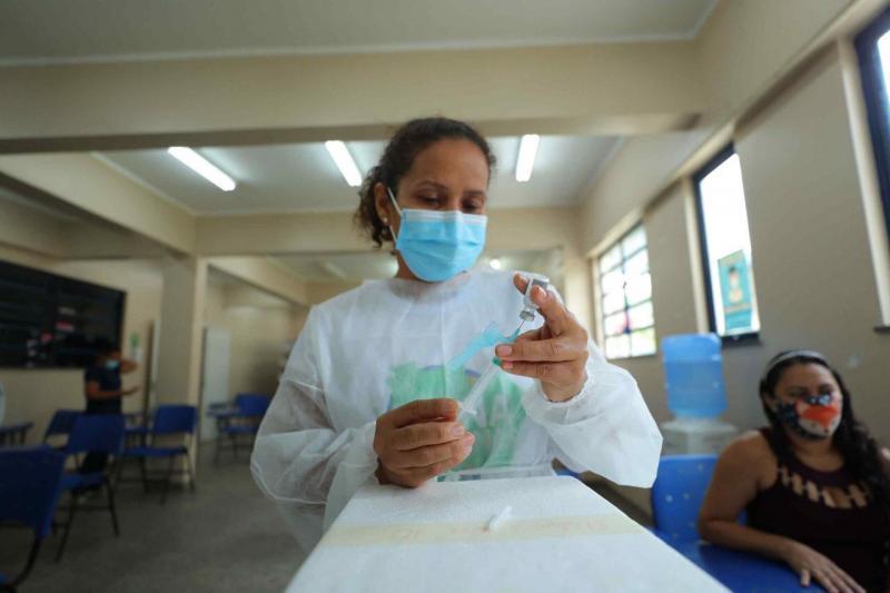 Vacina Amazonas: Governo do Estado intensifica imunização com três novos pontos na zona norte de Manaus