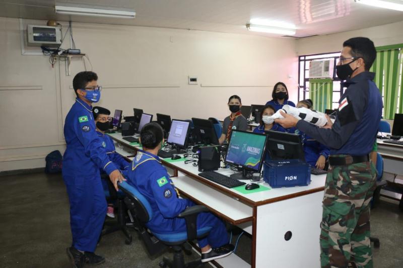 Escola do Amazonas é a única instituição pública da Região Norte selecionada para a final de disputa nacional de satélites
