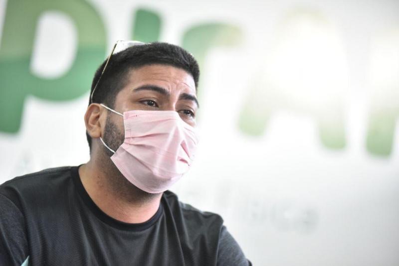 Após visita à tenda do Respirar, paciente inicia tratamento de sequelas da Covid-19 com o apoio do Governo do Amazonas