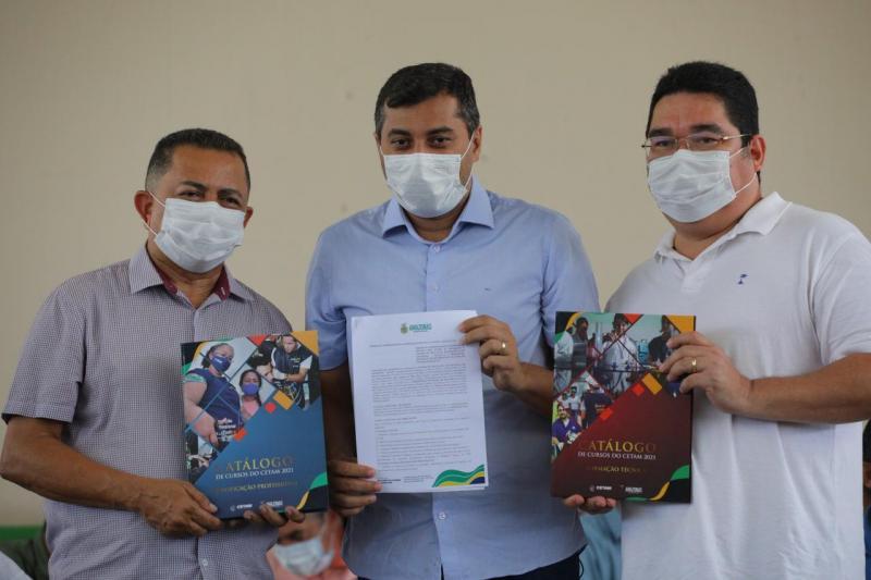 Wilson Lima libera fomento ao setor primário e recursos para saúde durante grande ação de cidadania em Rio Preto da Eva