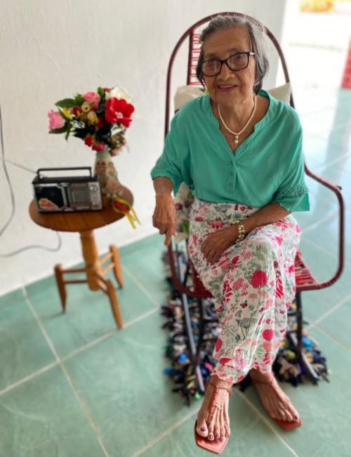 Dona Idalina faz 90 anos de idade, Parabéns!