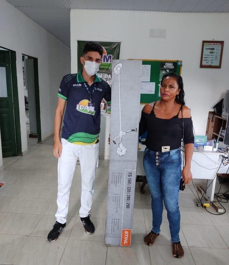 Governo do Amazonas investe R$ 650 mil na agricultura familiar e pesca de Benjamin Constant