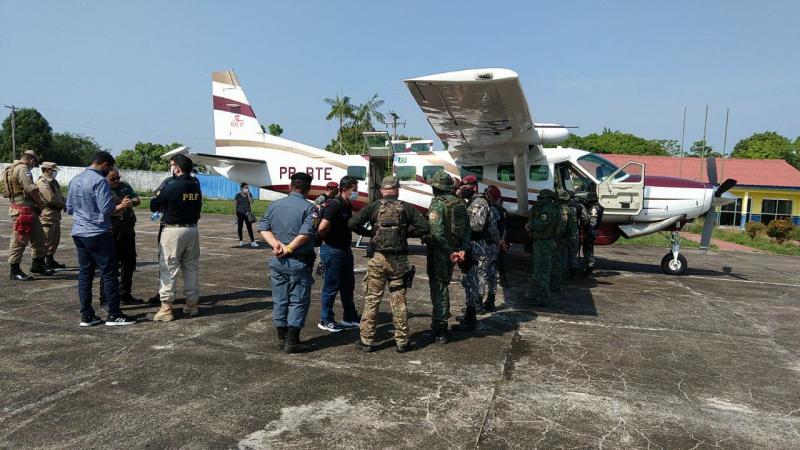 Governo do Amazonas e forças federais integram ações de combate ao desmatamento e queimadas em Humaitá