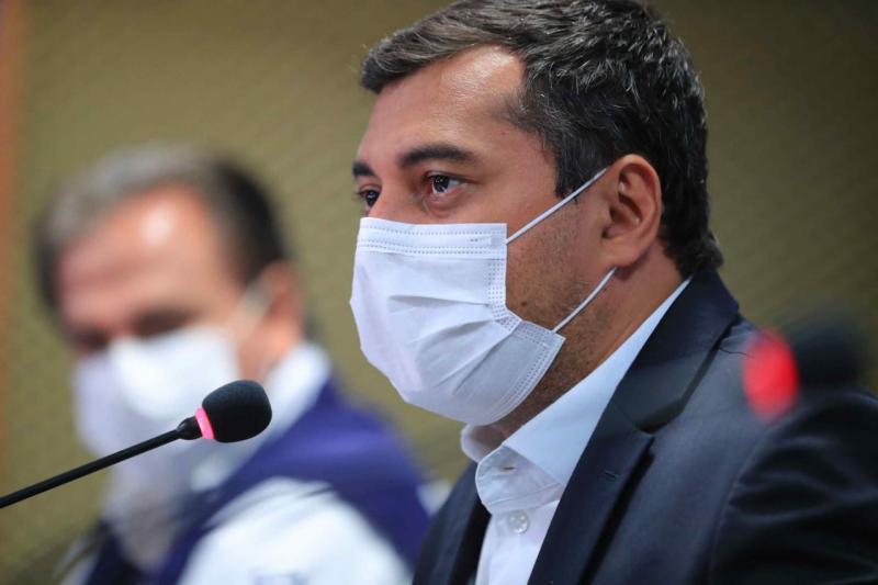 Wilson Lima anuncia exigência de imunização completa contra Covid-19 para público de jogo entre Brasil e Uruguai