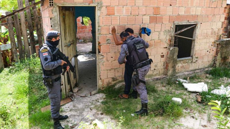Cidade Mais Segura prende cinco pessoas e apreende armas de fogo com colombianos ligados ao tráfico
