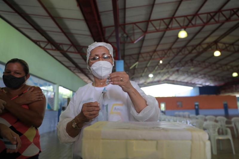 Avanço da vacinação: setembro registra menor quantidade de casos e óbitos por Covid-19 no Amazonas