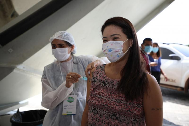 Amazonas já aplicou 4.071.525 doses de vacina contra Covid-19 até este sábado (02/10)