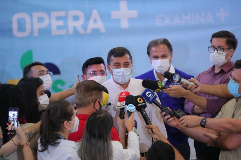 Governador Wilson Lima lança o projeto Opera+ para ampliar oferta de cirurgias eletivas