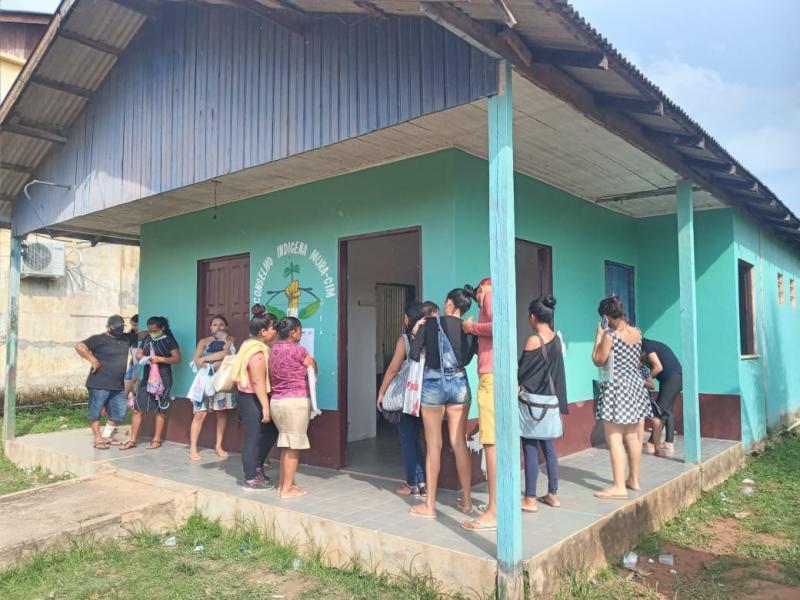FEI e outros órgãos realizam atendimento social para comunidades indígenas do município de Autazes