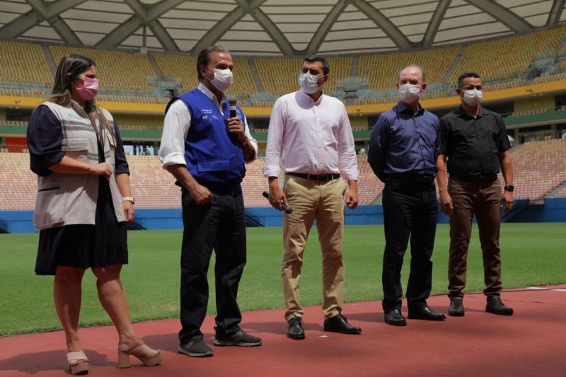 Governo do Amazonas divulga protocolo sanitário para jogo Brasil x Uruguai