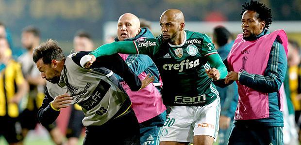 Palmeiras já se mexe quanto ao pedido de detenção de Felipe Melo no Uruguai