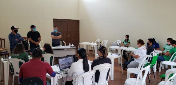 Ipaam prepara técnicos da Sempa e Sedema para agilizar licenciamentos de atividades agropecuárias de Parintins