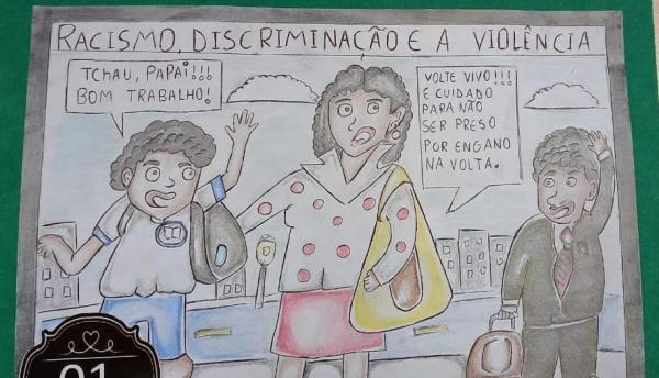Sucesso o Primeiro Concurso de Charge da Escola São José Operário, VEJA