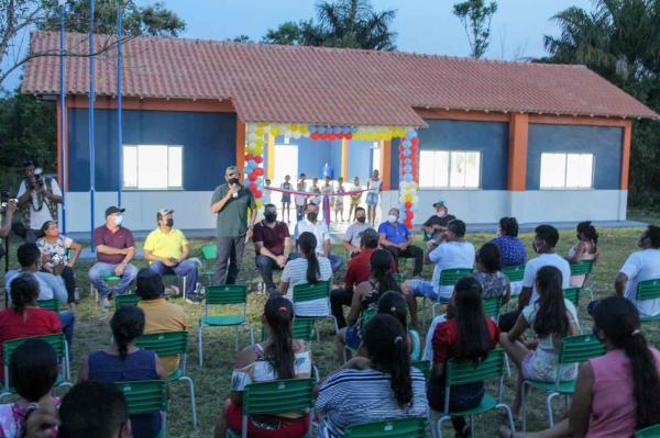 Prefeitura inicia maratona de inaugurações em comemoração ao aniversário de Parintins