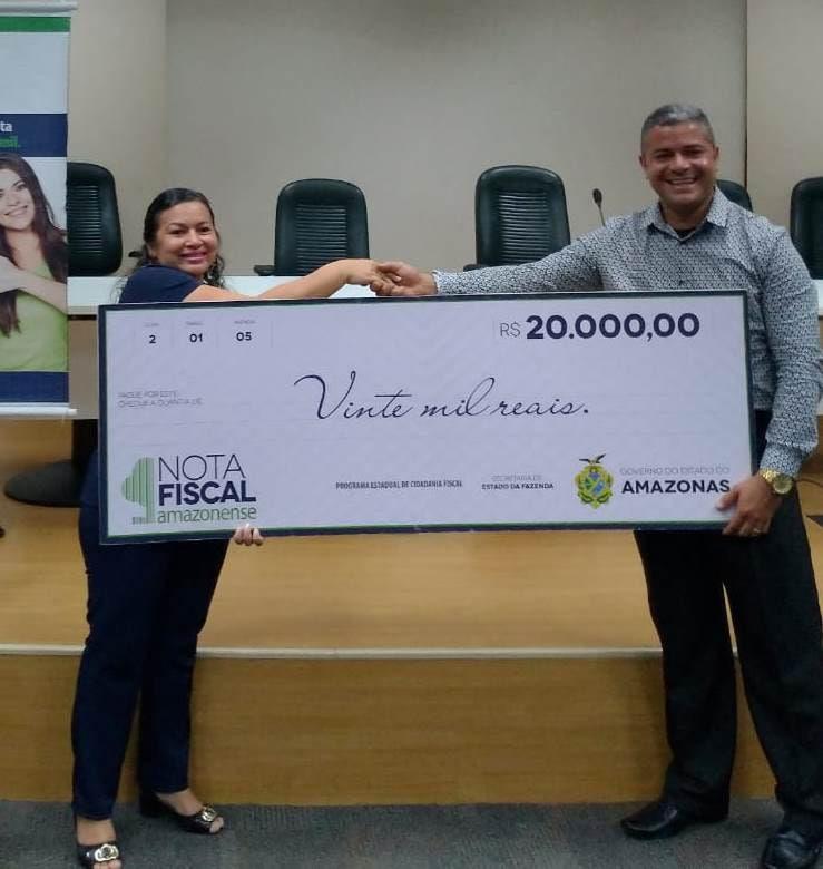 Com prêmios de 5 a 20 mil, Campanha Nota Fiscal Amazonense realiza sorteio nesta quinta-feira (14/10)