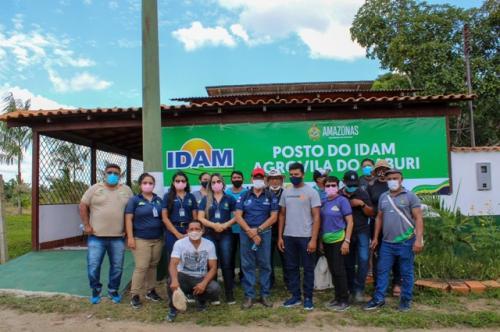 Governo do Amazonas instala unidade do Idam na Agrovila de Caburi