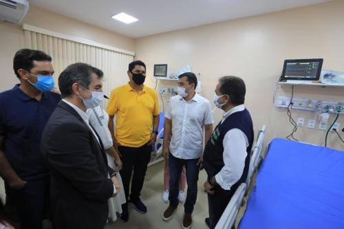 Wilson Lima inaugura leitos de UTI em Parintins, primeiro município do interior a ter os serviços especializados