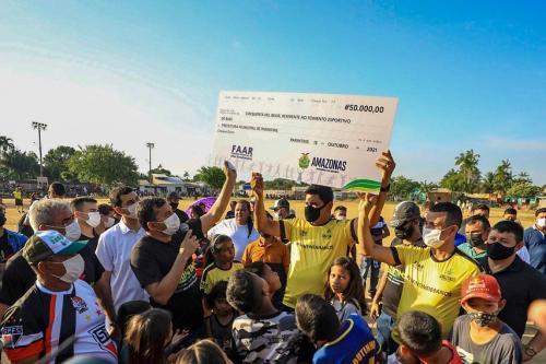 Campo do Paulo Corrêa será revitalizado pelo governador Wilson Lima