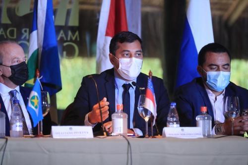 Em Fórum Mundial de Bioeconomia, Wilson Lima reforça trabalho do Estado para aliar preservação e desenvolvimento