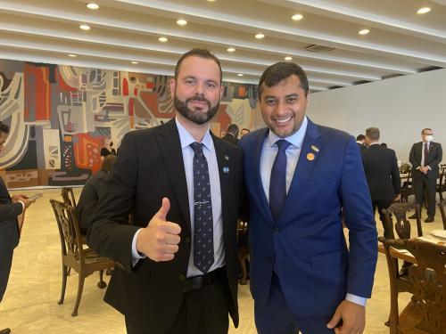 Em reunião com Wilson Lima, secretário nacional da Pesca agradece parceria do Estado que garante direitos a pescadores