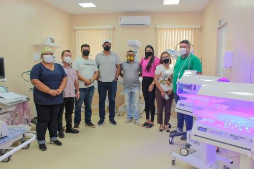 Bi Garcia inaugura ala de UTIs neonatais em Parintins