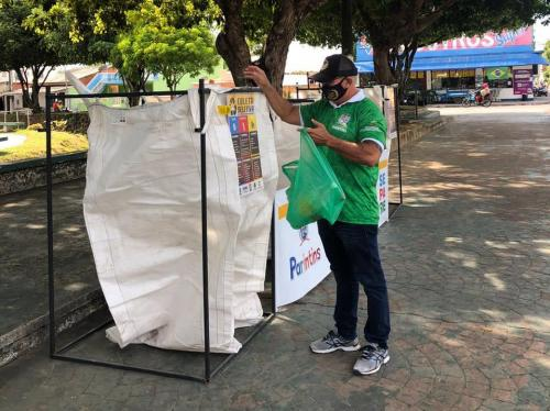 Pontos de Entrega Voluntária recolhem 25 toneladas de resíduos recicláveis em 30 dias de coleta seletiva
