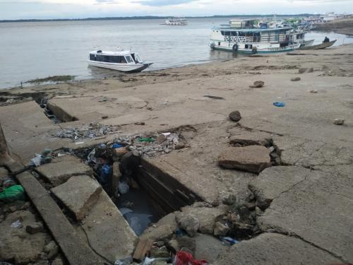 Márcia Baranda lamenta o fechamento do porto de Parintins há mais de um ano e pediu melhorias urgentes para os portos da Rampa do Mercado e Caçapava