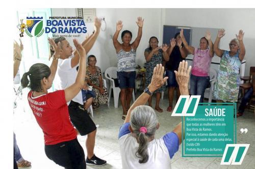 Prefeito Eraldo CB finaliza hoje programação com mulheres em BVR