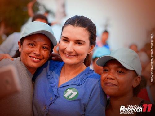 Rebecca Garcia não vai apoiar Amazonino e nem Braga