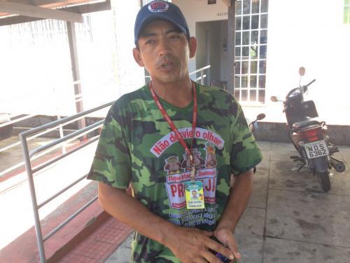 José trabalhou e quer receber os 450 reais da Secretaria de Turismo de Parintins