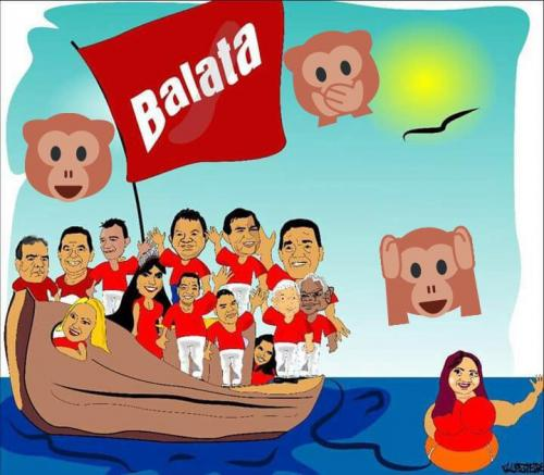 Garantido a grande viagem do Barco da Balata
