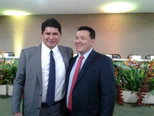 Bi Garcia vice-governador e Tony Medeiros prefeito
