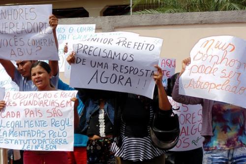 PT de Parintins divulga Nota Solidária aos Sem Terra
