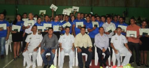 Marinha do Brasil expede certificado aos aquaviários de Boa Vista do Ramos
