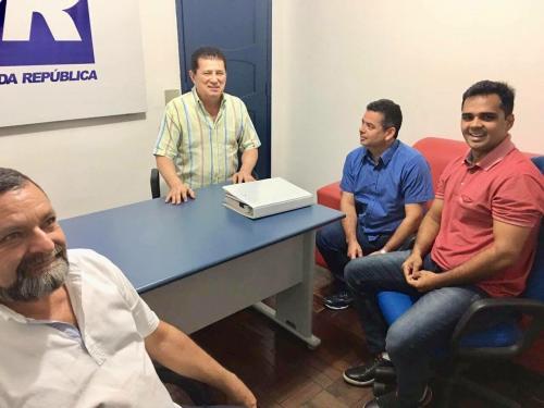 Alfredo Nascimento reúne com Israel Paulain