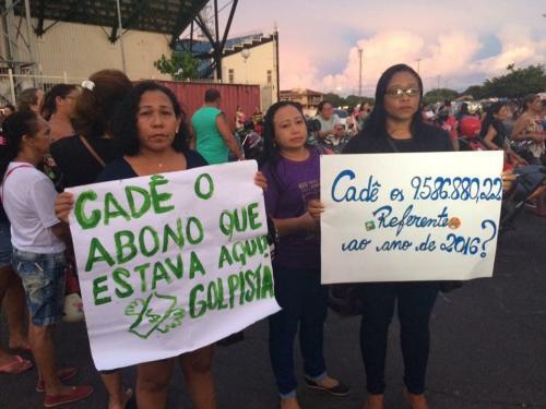 Professores  devem protestar no réveillon em Parintins para cobrar abono do Fundeb