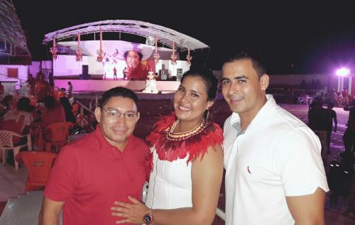 Rossy Amoedo prestigia festa do aniversário de Lindolfo Monteverde na Baixa de São José