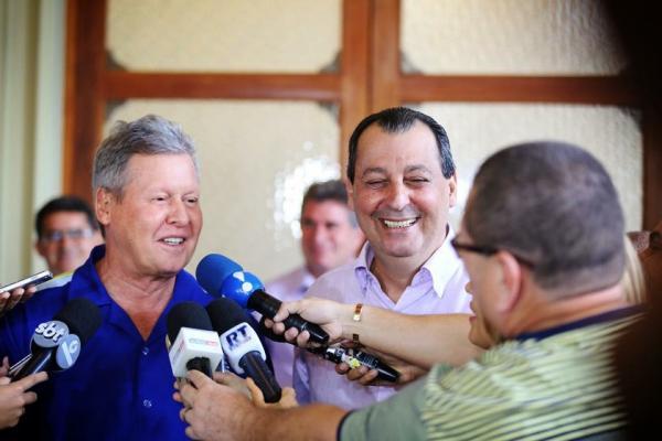 Arthur Neto declara apoio a Omar Aziz para governo do Amazonas