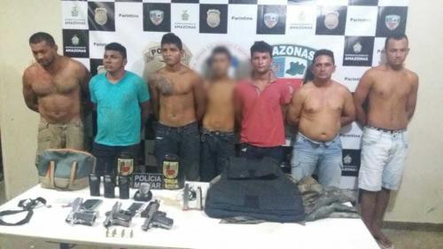 Polícia Militar desvenda e prende quadrilha de assaltantes em Boa Vista do Ramos