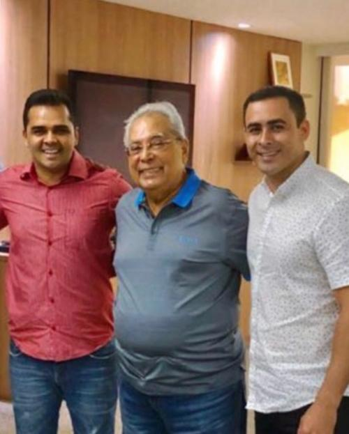 Israel Paulain declara apoio a Rossy Amoedo e Amazonino Mendes