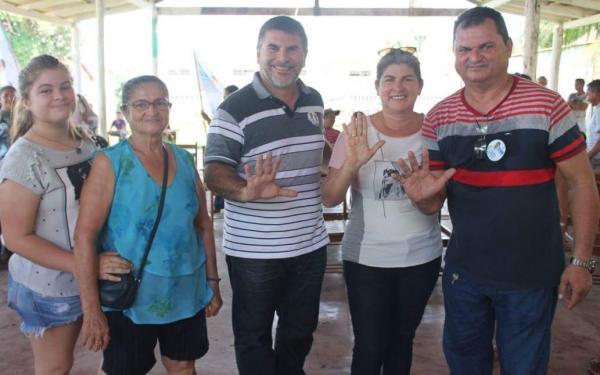 Dodó Carvalho recebe apoio do vice-prefeito de Barreirinha