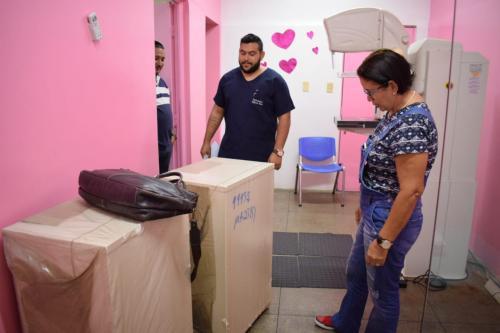 Jofre Cohen recebe novos equipamentos e mamografia será retomada