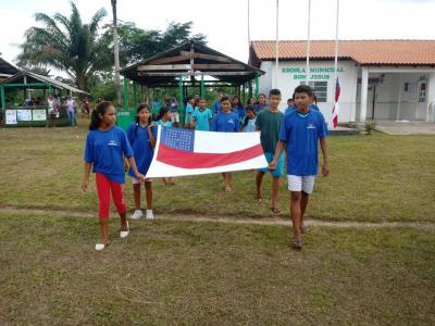 Jogos Escolares da Escola Bom Jesus reúne mais de 300 alunos/atletas de 5comunidades rurais