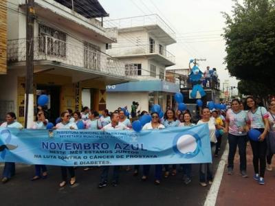 Campanha Novembro Azul em Parintins terá dia D em todas as unidades de saúde