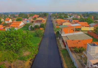 Prefeitura inicia asfaltamento no bairro Pascoal Allagio
