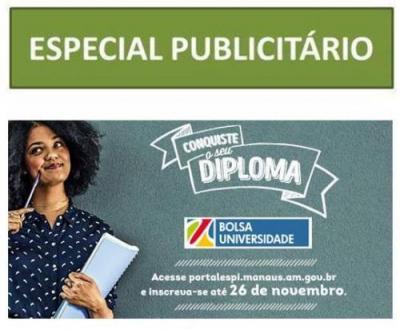 Conquiste seu diploma! O Programa Bolsa Universidade 2019 está com inscrições abertas