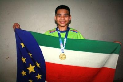Inédito: Parintinense Kael Modesto na Paraolímpiada Escolar