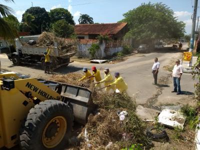 Trabalhos no bairro Djard Vieira entram em fase de conclusão