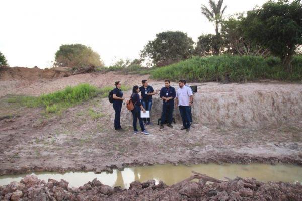 Equipe técnica do DNIT faz primeiras avaliações no Furo do Pucú